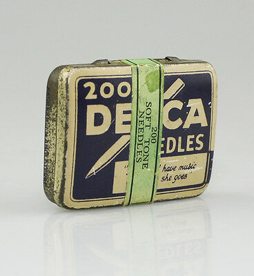 DECCA 'Soft Tone' Gramophone Needle Tin (LZ57)