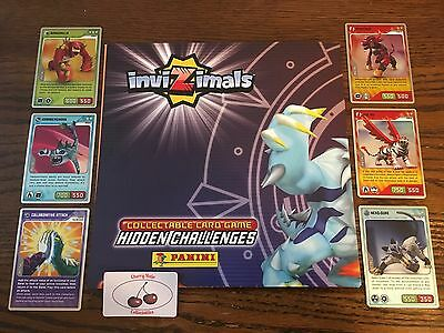 Panini INVIZIMALS Hidden Challenges Cards, Metal, Silver, Gold, Diamond, Limited