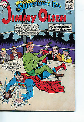 SUPERMANs PAL JIMMY OLSEN DC COMICS SILVER AGE LOT OF 12 DIFFERENT ISSUES