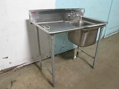"""EAGLE"" HEAVY DUTY COMMERCIAL (NSF) S.S. VEGETABLE PREP SINK w/FAUCET"