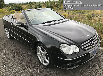 mercedes benz clk 280 sport convertible auto 2006 06 parktronic full leather 6. Black Bedroom Furniture Sets. Home Design Ideas