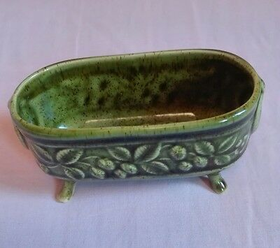 Holkham pottery miniature planter