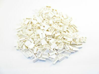LEGO White Slope 30 1x2x2//3 Lot of 100 Parts Pieces 85984
