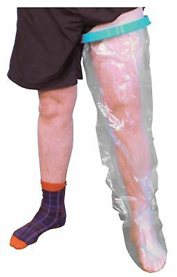 Waterproof Cast And Bandage Protector For Use Whilst Showering (Adult Long Leg)