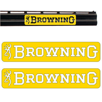 2x BROWNING Vinyl Decal Sticker. 9 colours and 3 sizes to choose from