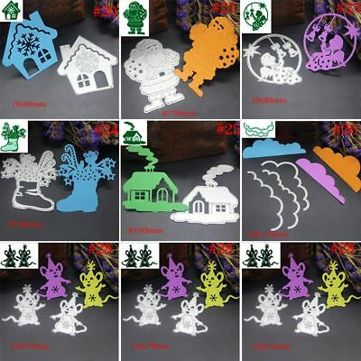 Christmas Cutting Dies Stencil Scrapbooking Embossing DIY Cards Making Crafts