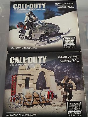 Call of Duty - Mountain Recon 06812 + Desert outpost 06846