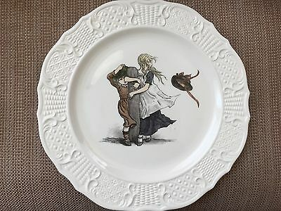 Kate Greenaway March Plate
