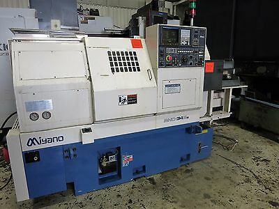 Miyano  Bnd-34S5 3-Axis Cnc Turning Center With Programmable Sub-Spindle
