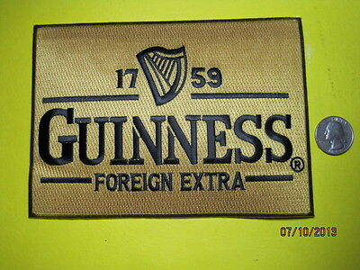 Beer Patch Guinness Beer Patch Large Back Size Look And Buy Now!*