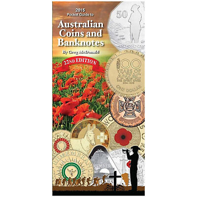 2015 Edition Pocket Guide to Australian Coins & Banknotes - Greg McDonald