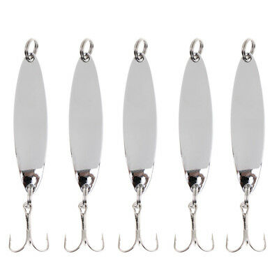 5pcs Fishing Sequins Lure Bait Set for Perch Herring Freshwater Sea Fishing