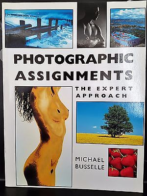Photographic Assignments Expert Approach Camera Book Michael Busselle