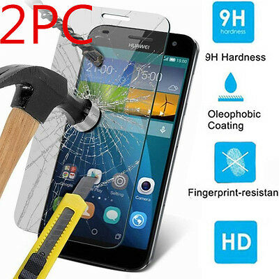 9H+ Premium Tempered Glass Cover Screen Clear Protective Film For Huawei Phone