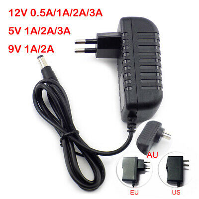 DC AC 5V 12V 0.5A 1A 2A 3A Power Supply Adapter Charger For LED Strip Light CCTV