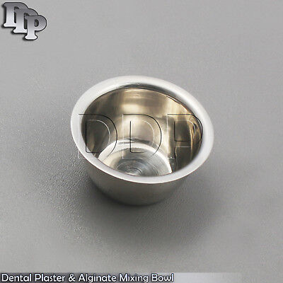 Dental Surgical Implant Laboratory Mixing Bowl Cup 50X30mm Stainless Steel New
