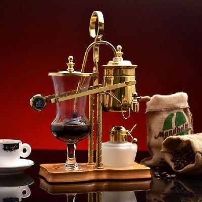 Belgian Belgium Luxury Royal Family Balance Syphon Siphon Coffee Tea Pot Maker