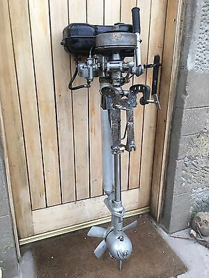 Seagul century 5hp outboard motor with forward and reverse for Seagull outboard motor value