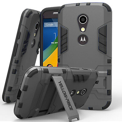 Dual Layer Design with Heavy Duty Inner Protection Scratch Resistant For MOTO G2