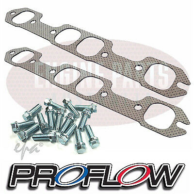 Holden 253 308 V8 HT HG HQ HJ HX HZ WB MONARO Extractor Exhaust Gaskets & Bolts