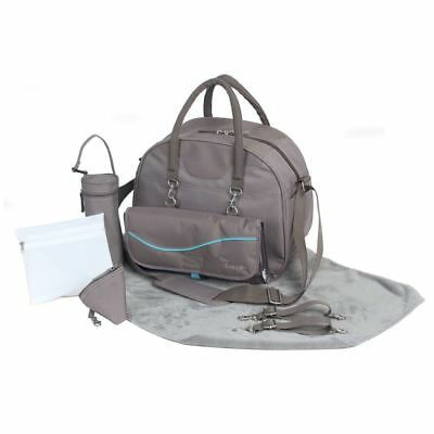 Bo Jungle B-City Baby Nursery Changing Nappy Mommy Diaper Bag Taupe B300310✓