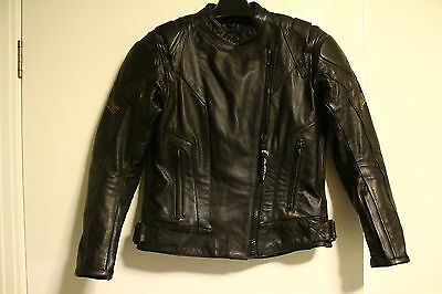 Womens Motorcycle Jacket. Size 8