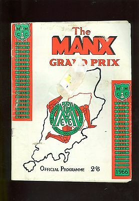 1966 Manx Grand Prix Official Programme