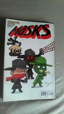 Masks #3 Volume 2 #5 Eliopoulos Variant 1 in 25 Retailer Incentive The Shadow