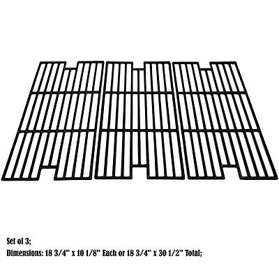 Replacement Porcelain Cast Iron Cooking Grid for BBQ Tek and Sams Gas Grill