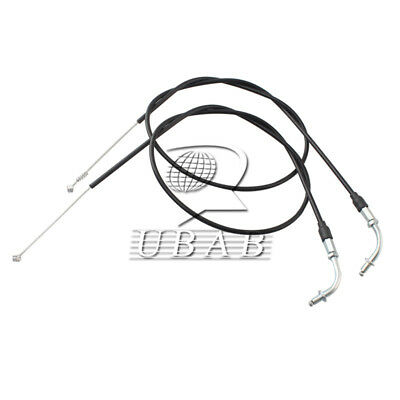 90CM Throttle Cable Wire Set For Harley-Davidson Sportster XL1200 XL883 Black