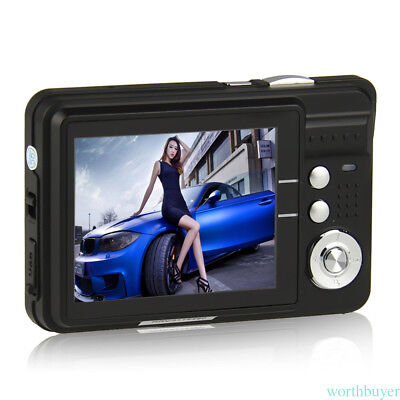 Mini Digital Camera 18 MP CMOS LCD Screen HD 720P Flash Camcorder  ama7