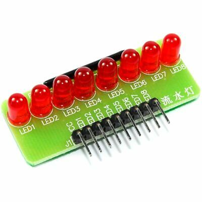 8 LED Red Line Module Running Flowing Arduino Raspberry Pi Flux Workshop