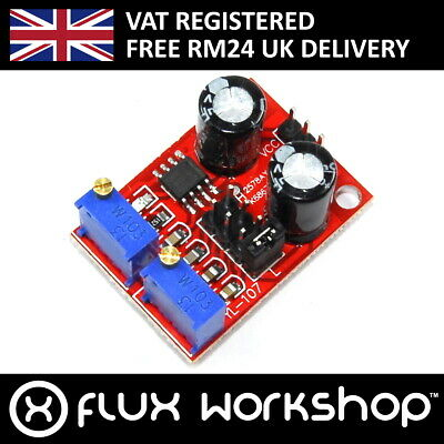 Pulse Generator Module NE555 1Hz 200kHz Trigger Duty Freq Interval Flux Workshop