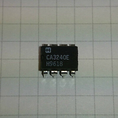 CA3240E Dual 4.5MHz BiMOS Operational Amplifier with MOSFET