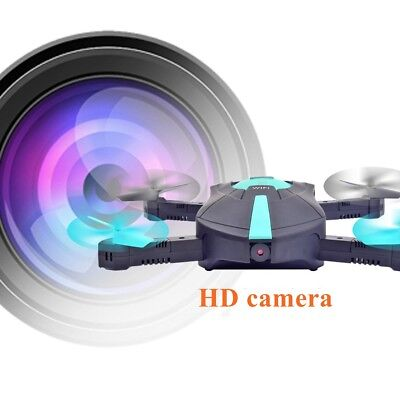 Pocket Foldable 4CH Altitude Hold HD Camera WIFI FPV RC Quadcopter Selfie Drone