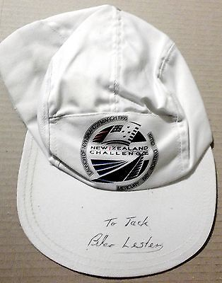 America's Cup ~ New Zealand Challenge ~ Team Cap ~ Signed By Peter Lester