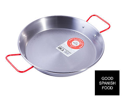 Authentic Polished Paella Pan - Garcima La Ideal - Paella Equipment - UK STOCK