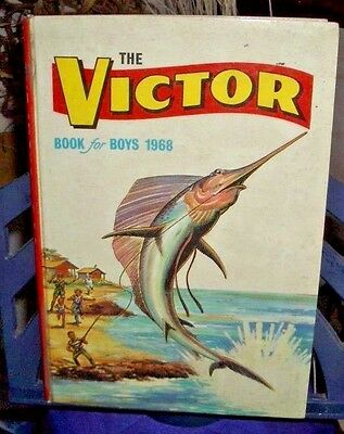 The Victor Book for Boys 1968 Siver Age VIC02