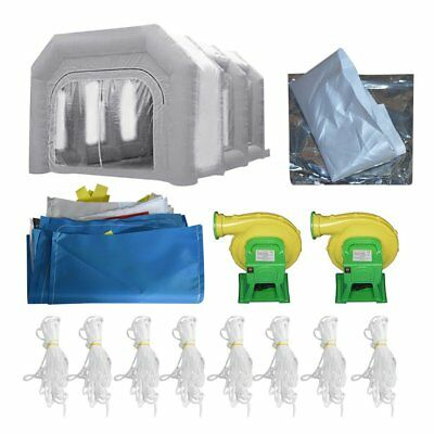 customize 20ftx15ftx10ft Certified Portable Cloth Inflatable Spray Paint Booth B