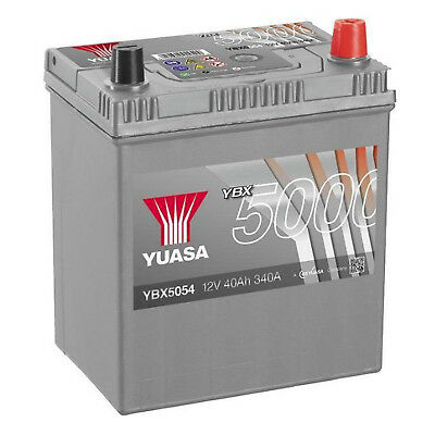 Yuasa YBX5054 12V Silver 054 Series Car Battery 40Ah 340A
