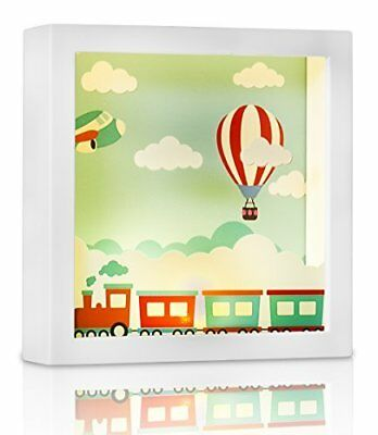 Marmelada Lights Train To The Clouds LED 3D Wall Hanging and Table Top Inner In