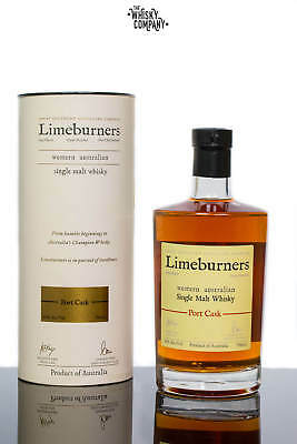 Limeburners Port Cask Small Batch Australian Single Malt Whisky (700ml)
