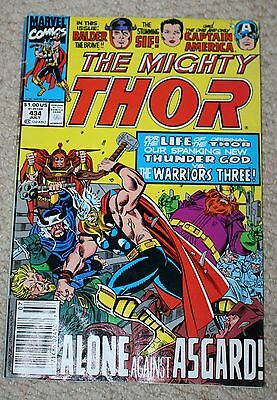 THE MIGHTY THOR  #434 Marvel comics, alone in Asgard NM