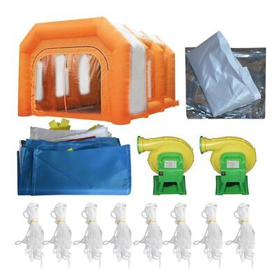 Customize Certified Portable Inflatable Paint Booth Tent Giant Car Spray Booth B