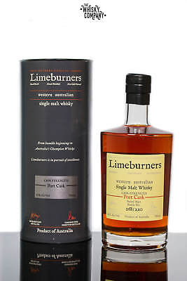 Limeburners Port Cask Strength Western Australian Single Malt Whisky (700ml)