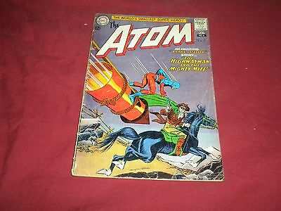 The Atom #6 (Apr-May 1963, DC) silver age 2.0/gd comic!!!!