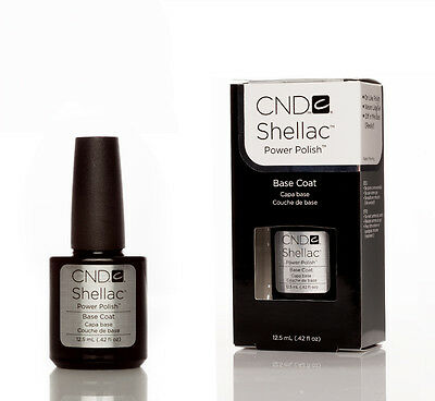 CND Shellac Nail Polish, Base Coat.