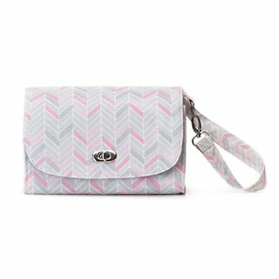 New Nat and Jules  Chevron Diaper Clutch