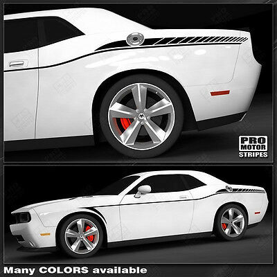 Dodge Challenger Arrow Side Accent Stripes Decals 2015 2016 2017 2018 2019