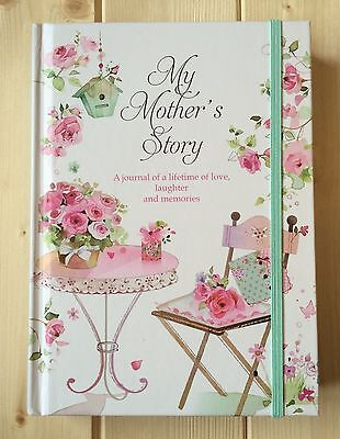 New- Mothers Memories Journal Mum To Child Baby Keepsake Record Book Ideal Gift
